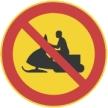 Moottorikelkalla ajo kielletty
